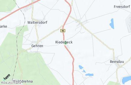 Stadtplan Heideblick