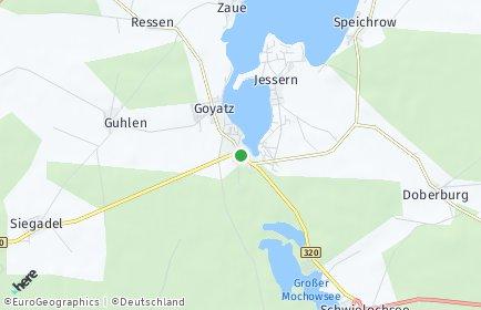 Stadtplan Schwielochsee