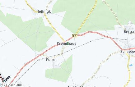 Stadtplan Kremitzaue