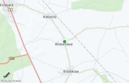 Stadtplan Wiesenaue