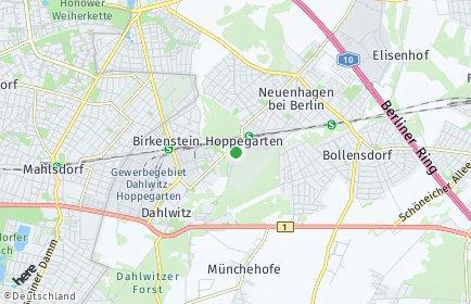 Stadtplan Hoppegarten