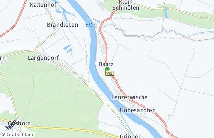 Stadtplan Lenzerwische