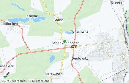 Stadtplan Schenkendöbern