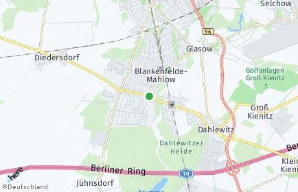 Stadtplan Blankenfelde-Mahlow