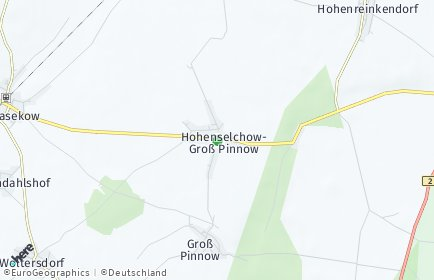 Stadtplan Hohenselchow-Groß Pinnow