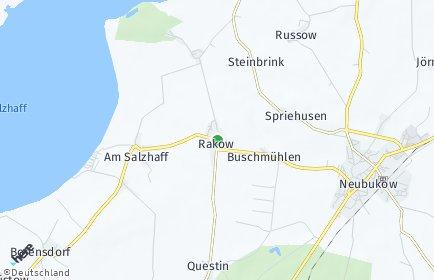 Stadtplan Am Salzhaff