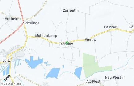 Stadtplan Sassen-Trantow