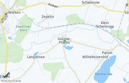 Stadtplan Gülzow-Prüzen