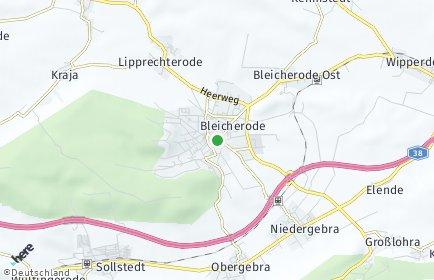 Stadtplan Bleicherode
