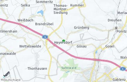 Stadtplan Heyersdorf