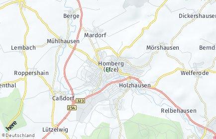 Stadtplan Schwalm-Eder-Kreis