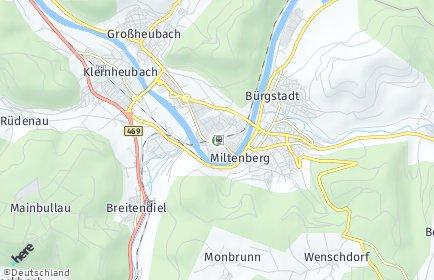 Stadtplan Miltenberg