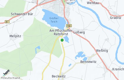 Stadtplan Nordsachsen