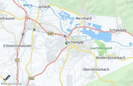 Stadtplan Werra-Meißner-Kreis