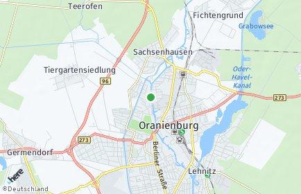 Stadtplan Oberhavel