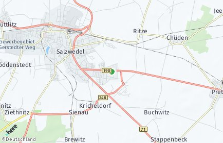Stadtplan Altmarkkreis Salzwedel