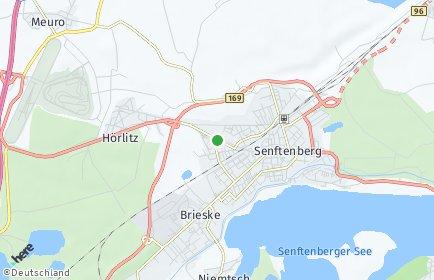 Stadtplan Oberspreewald-Lausitz