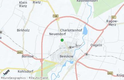 Stadtplan Oder-Spree