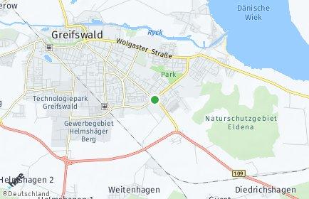 Stadtplan Vorpommern-Greifswald