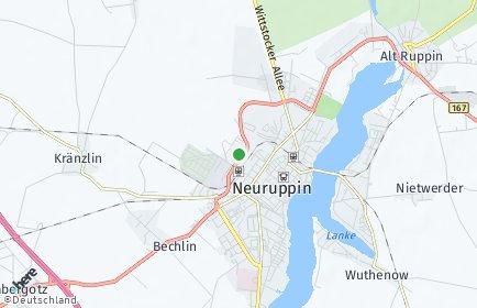 Stadtplan Ostprignitz-Ruppin