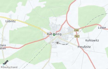 Stadtplan Potsdam-Mittelmark
