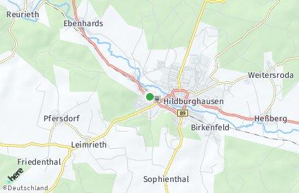 Stadtplan Hildburghausen