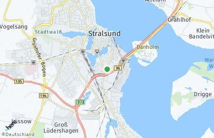Stadtplan Vorpommern-Rügen
