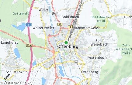 Stadtplan Ortenaukreis