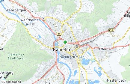 Stadtplan Hameln-Pyrmont