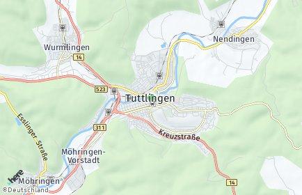 Stadtplan Tuttlingen