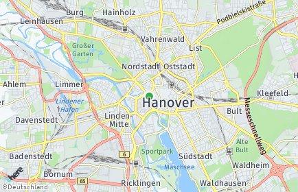 Stadtplan Region Hannover