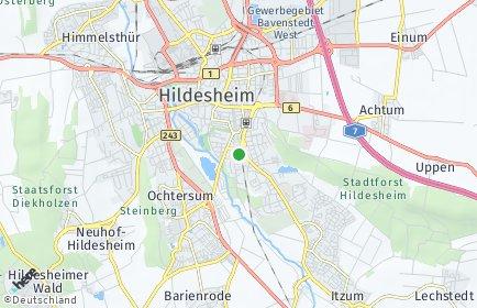 Stadtplan Hildesheim