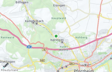 Stadtplan Enzkreis