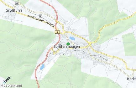 Stadtplan Kyffhäuserkreis