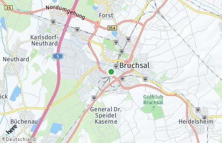 Stadtplan Karlsruhe