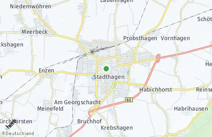 Stadtplan Schaumburg