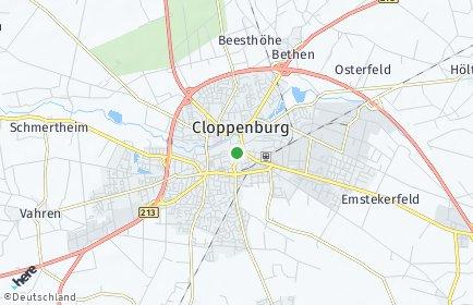 Stadtplan Cloppenburg