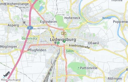 Stadtplan Ludwigsburg