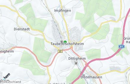Stadtplan Main-Tauber-Kreis