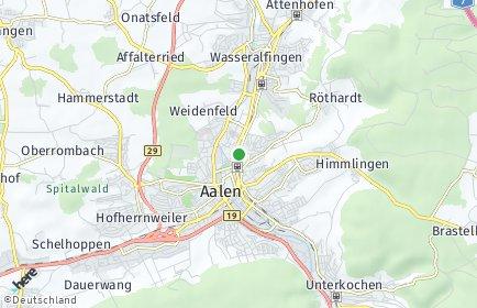 Stadtplan Ostalbkreis