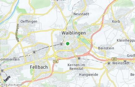 Stadtplan Rems-Murr-Kreis