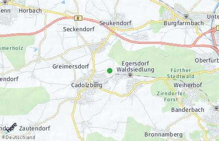 Stadtplan Fürth