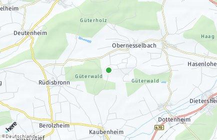 Stadtplan Neustadt an der Aisch-Bad Windsheim