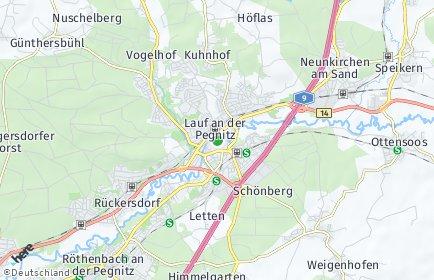 Stadtplan Nürnberger Land