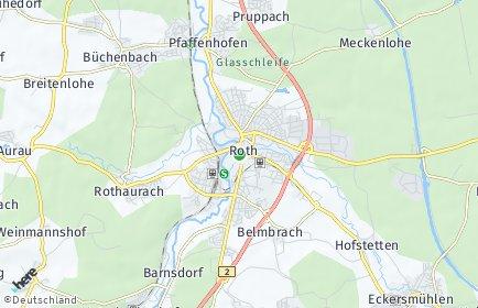Stadtplan Roth