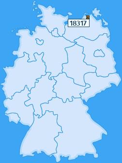 PLZ 18317 Deutschland