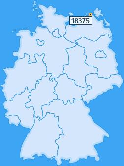 PLZ 18375 Deutschland