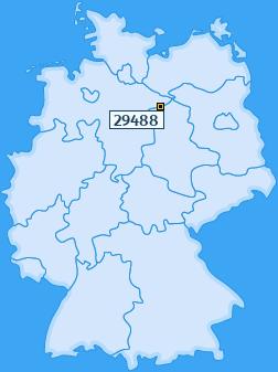 PLZ 29488 Deutschland