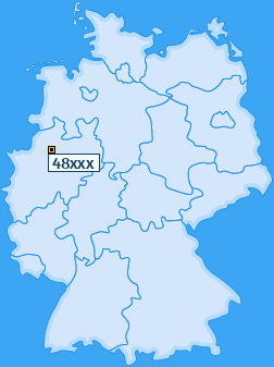 PLZ 48 Deutschland