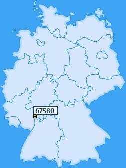 PLZ 67580 Deutschland